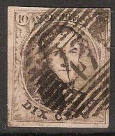 Nr. 10 Of 10A Met PRACHTIGE Stempel P47 Van GEMBLOUX En In Goede Staat Met 4 Mooie Randen (zie 2 Scans) ! - 1858-1862 Medallones (9/12)