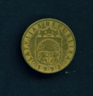 LATVIA  -  1992  10s  Circulated Coin - Latvia