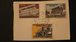 Vatican Roman Osservatore Set Of Three Day Of Issue Cancel 1961  A04s - Vatican