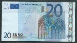RARE € 20 FINLAND L  H006  TRICHET   CIRCULATED - EURO
