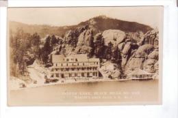 SYLVAN LAKE Black Hills Hotel Resort Canedy's Sioux Falls  Photo POST CARD  Rppc - Sioux Falls