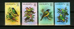 Vanuatu 1981,4V,compl Set,birds,vogels,vögel,oiseaux,pajaros,uccelli,aves,MNH/Postfris(A2201) - Vogels