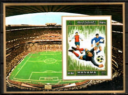 MANAMA  BF  * *  NON DENTELE  Cup 1970    Stade   Soccer  Fussball  Football - 1970 – Mexico