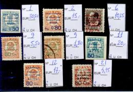 Lote De Sellos De Canarias, Precio Catálogo Edifil 105 Euros - Emisiones Nacionalistas