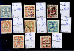 Lote De Sellos De Canarias, Precio Catálogo Edifil 105 Euros - Nationalist Issues