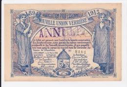 Lodelinsart 5 Francs + 2 Francs - 1915. - Non Classificati