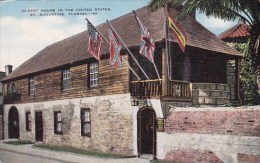 Florida Saint Augustine Oldest House In The United States