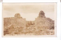 GRAN QUIVERA Salinas Monument Ruins Of Mission   Photo  POST CARD  Rppc - Etats-Unis