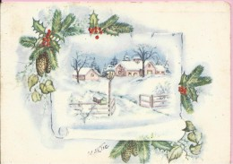Happy New Year - Winter (M. Artic), 1961., Yugoslavia (ND) - Nouvel An