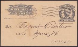 1904-EP-45 CUBA 1903. Ed.70. 1c. TARJETA DE MARTI 1916 IMPRESO PRIVADO DE ASOCIACION DE ARRENDATARIOS. - Cuba