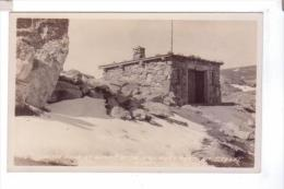 FALL RIVER ROAD CO Rocky Mountain N Park Shelter House At Summit Photo Sanborn POST CARD Rppc - Etats-Unis