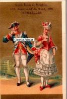 Chromo GRANDE MAISON DE PARAPLUIES Bruxelles Belgique - Royal Tambour LOUIS XVI  - Scans Recto-verso - Other