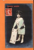 Poste - Lettre -  Fête - Fantaisie -Enfant- Bonne Année - Poste & Facteurs