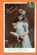 Poste - Facteur - Lettre -  Fête - Bonne Année- Fantaisie Enfant - Poste & Facteurs