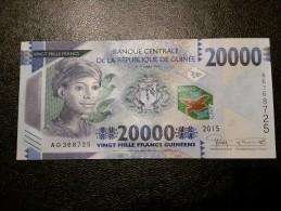 Guinea 20000 Francs 2015 UNC - Guinea