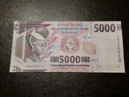 Guinea 5000 Francs 2015 UNC - Guinea
