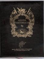 Agenda hitorique 89 - 3 pages utilis�es, Format 215 x 275 mm. 57 500 exemplaires