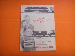 33) 6  Pub : Hornby Acho  Meccano , Dinky Toys   : VERSO : , - Publicités