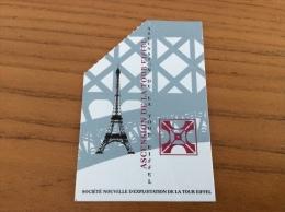 """Ticket D´entrée """"ASCENSION DE LA TOUR EIFFEL (ADULTE)"""" (Paris 75) - Tickets - Vouchers"""