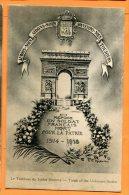 LOL056, Tombeau Du Soldat Inconnu, Soldat Français Mort Pour La Patrie 1914 - 1918, Non Circulée - Monumenti Ai Caduti