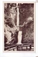 Multnomah Falls CORBETT Columbia River Highway  Photo Sawyers Scenic  POST CARD Rppc - Non Classés