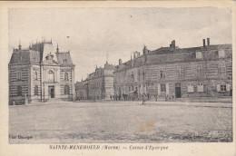 CPA 51 Sainte Menehould - Caisse D'épargne - Sainte-Menehould