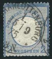 Deutsches  Reich            Michel     20                 O                Gebraucht - Deutschland