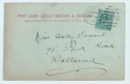 Chester-le-Street - Duplex 188 On PC Rothsay Castle - Postmark Collection