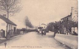 Cpa BASSE GOULAINE - La Route De St Sébastien - Francia