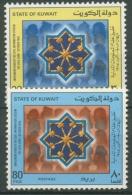 Kuwait 1985 Einführung Von Personalausweisen 1091/92 Postfrisch - Koeweit