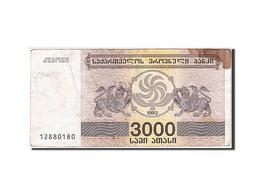 Géorgie, 3000 (Laris), 1993, KM:45, 1993, TB - Géorgie