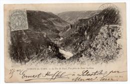 LES VIGNES--1903--Gorges Du Tarn - Le Pas Du Souci, Vue Prise Du Point Sublime -n° 14 Collec ND Phot--carte Précurseur - Other Municipalities