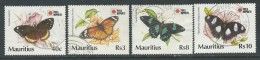 Mauritius, Jaar 1991, Vlinders, Reeks, Gestempeld, Zie Scan - Maurice (1968-...)