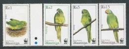 Mauritius, Jaar 2003, Papegaaien, Reeks, Postfris (MNH**), Zie Scan - Maurice (1968-...)