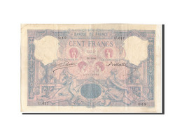 France, 100 Francs, 100 F 1888-1909 ''Bleu Et Rose'', 1989, KM:65a, 1989-09-2... - 1871-1952 Circulated During XXth
