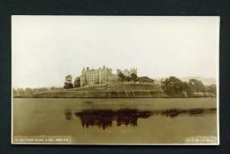 ISLE OF MAN  -  Linlithgow Palace  Unused Vintage Postcard - Ile De Man