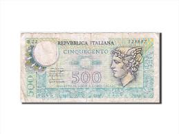 Italie, 500 Lire, 1974-1979, KM:94, Undated, TB - [ 2] 1946-… : République