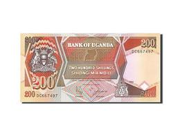 Uganda, 200 Shillings, 1987, KM:32b, 1994, NEUF - Uganda
