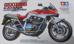 Suzuki GSX1100S Katana Custom Tuned 1/12 ( Tamiya ) - Motorcycles