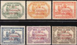 """HONDURAS 462-467 """"75 Jahre Weltpostverein U.P.U./75 Aniversario/1874-1949"""" MNH / ** / Postfrisch - Honduras"""