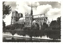 Cp, 75, Paris,  Notre Dame, Voyagée 1966 - Notre Dame De Paris