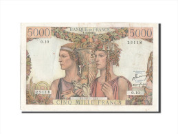 France, 5000 Francs, 5 000 F 1949-1957 ''Terre Et Mer'', 1949, KM:131a, 1949-... - 1871-1952 Gedurende De XXste In Omloop