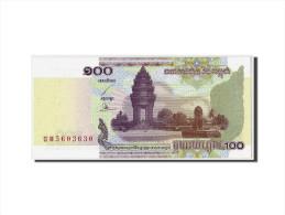 Cambodge, 100 Riels, 2001, KM:53a, Non Daté, NEUF - Cambodia