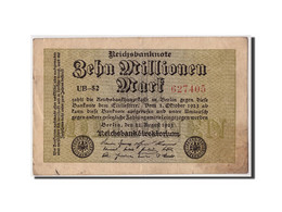 Allemagne, 10 Millions Mark, 1923, KM:106a, 1923-08-22, TB+ - [ 3] 1918-1933 : Weimar Republic