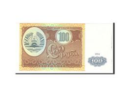 Tajikistan, 100 Rubles, 1994, KM:6a, Undated, NEUF - Tadjikistan