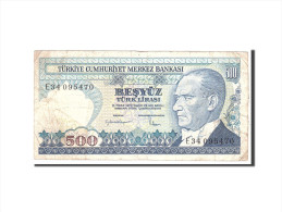 Turquie, 500 Lira, 1983, KM:195, Undated, TB - Turchia