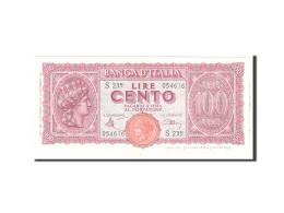 Italie, 100 Lire, 1944, KM:75a, 1944-12-10, SPL - [ 1] …-1946 : Royaume