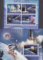 Togo 2010 Space Satellites Sheet+MS - Africa