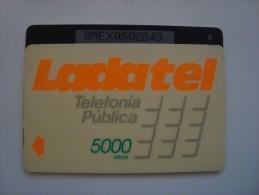 M�XICO - GPT - LADATEL 5000 PESOS - 8MEXA + B