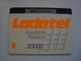 M�XICO - GPT - LADATEL 20000 PESOS - 8MEXC + B